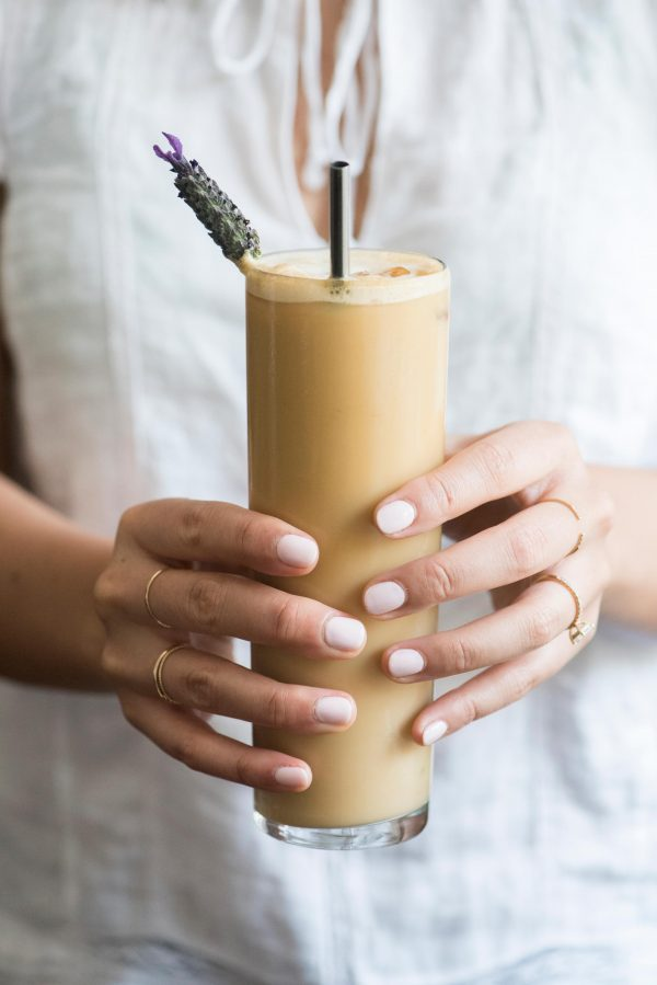 Lavender Iced Coffee Recipe | Best Iced Coffee Recipes from @cydconverse