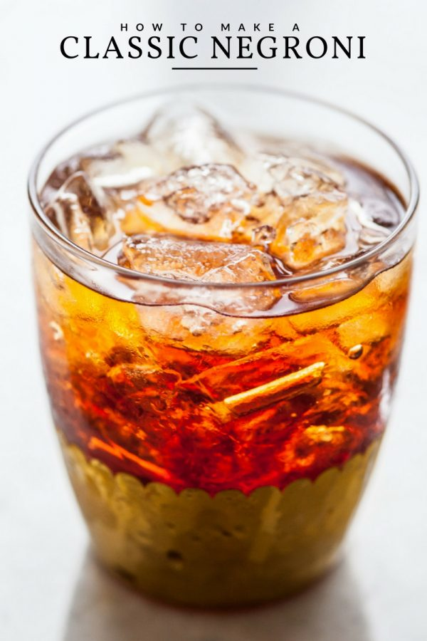 Best Negroni Recipe | Best cocktail recipes, entertaining ideas, party ideas and more from @cydconverse