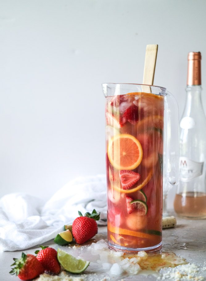 Rosé Sangria | 15 Sangria Recipes for Late Summer and Fall | Cocktail ...