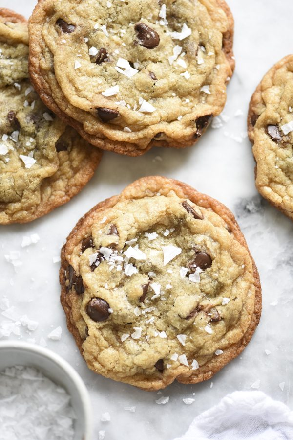 Milk Bar's Salted Chocolate Chip Cookies | Best chocolate chip cookie recipes, entertaining tips and party ideas from @cydconverse