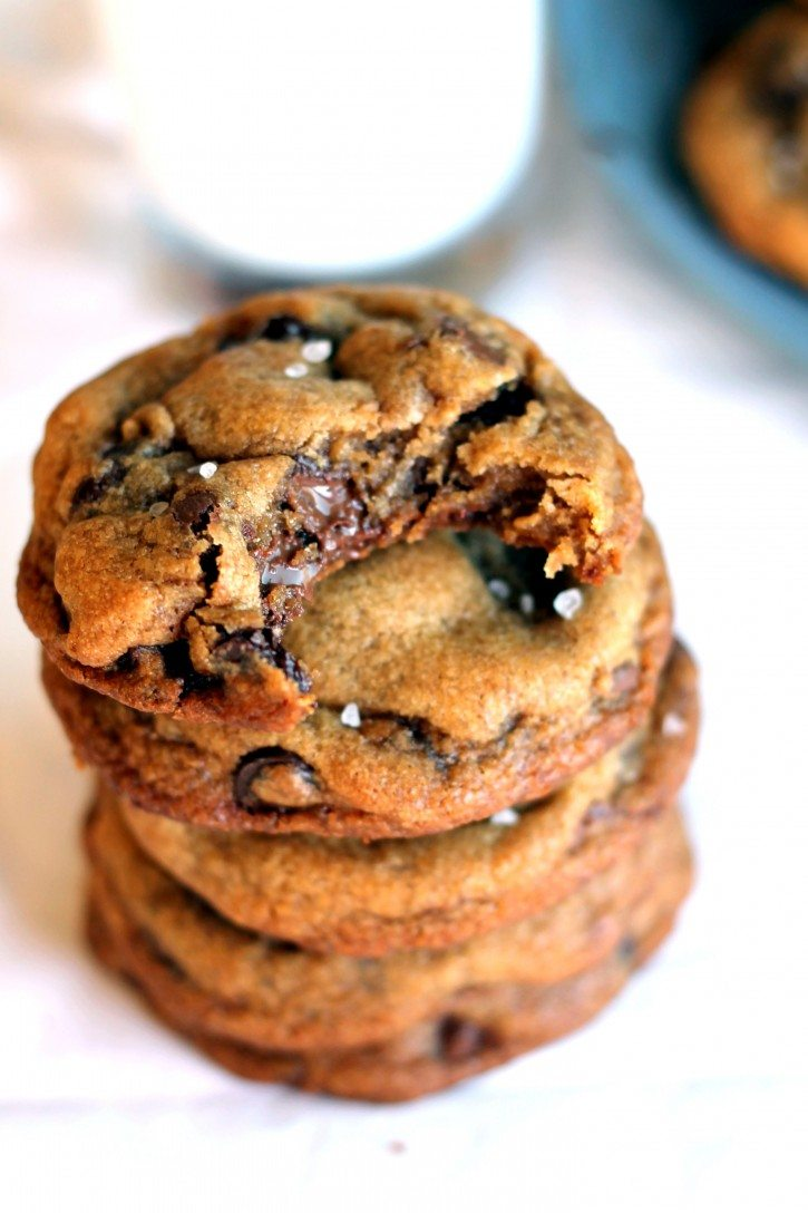 Chewy Nutella Chocolate Chip Cookies Recipe