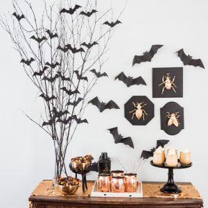 DIY Bat Branch Halloween Centerpiece thumbnail