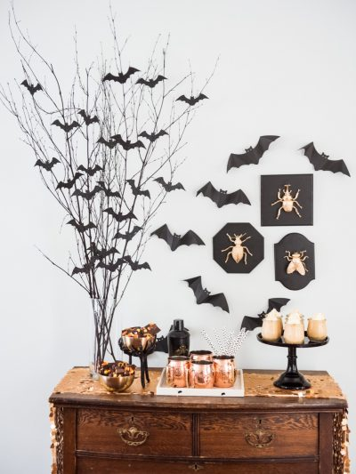 DIY Bat Branch Halloween Centerpiece thumbnail