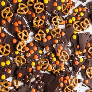 Homemade Halloween Candy Bark thumbnail