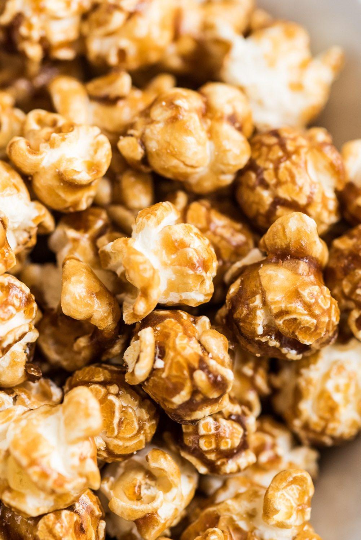 Caramel Chocolate Corn Recipe — Dishmaps
