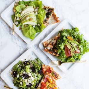 Three Easy Weeknight Pizza + Salad Pairings thumbnail