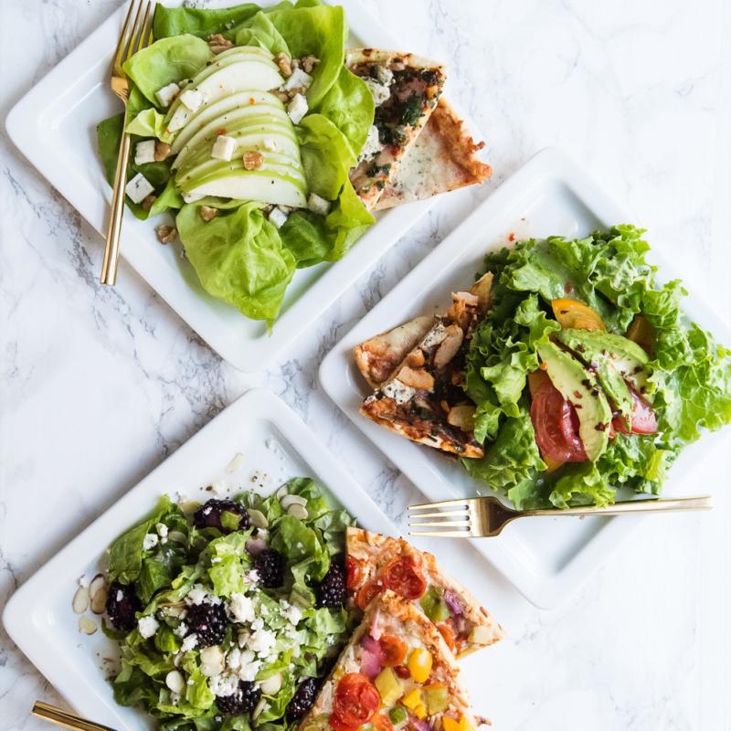 Three Easy Weeknight Pizza + Salad Pairings