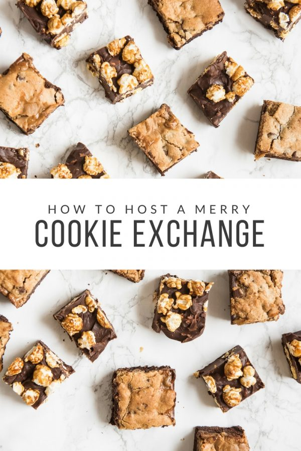 How to Host a Merry Cookie Exchange with @cydconverse + @eaglebrand | Cookie exchange recipes, holiday party ideas, entertaining tips, best cookie recipes and more!