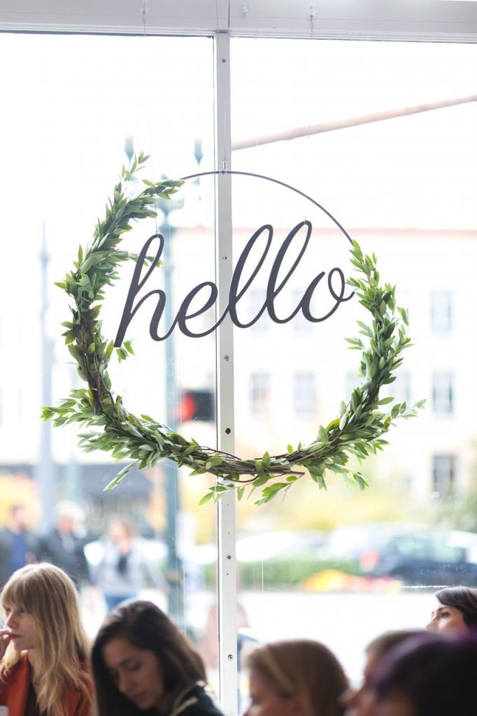 The Hello Sessions in Portland, Oregon | Blogger conferences and events for bloggers featuring @cydconverse