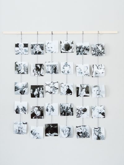 DIY Family Photo Wall Hanging thumbnail