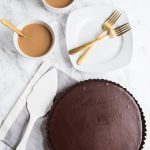 An Easy Homemade Chocolate Tart
