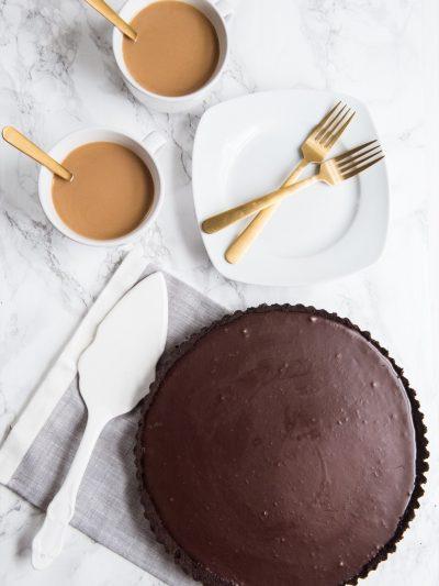 An Easy Homemade Chocolate Tart thumbnail