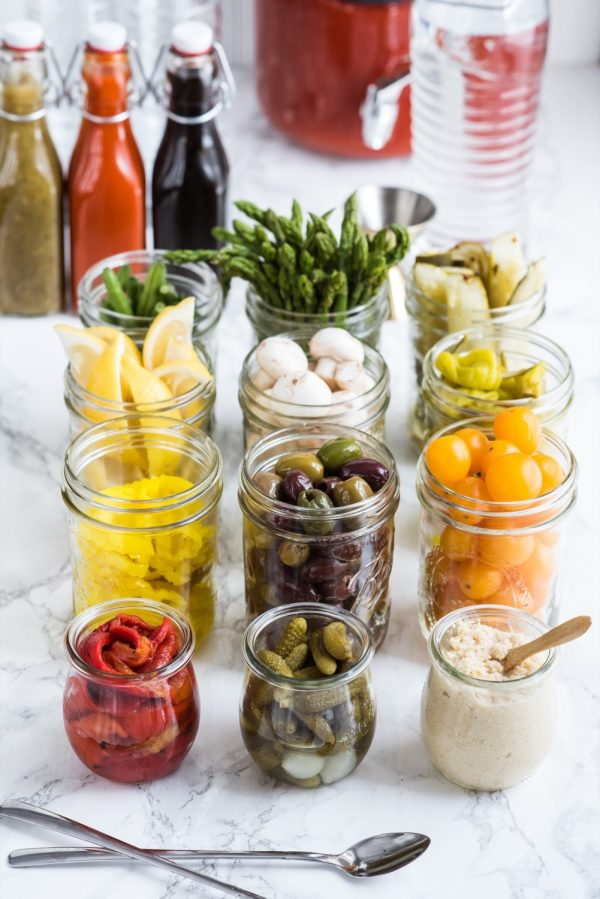 How to Make an Epic New Year's Day Bloody Mary Bar | Entertaining tips, party ideas, party recipes and more from @cydconverse