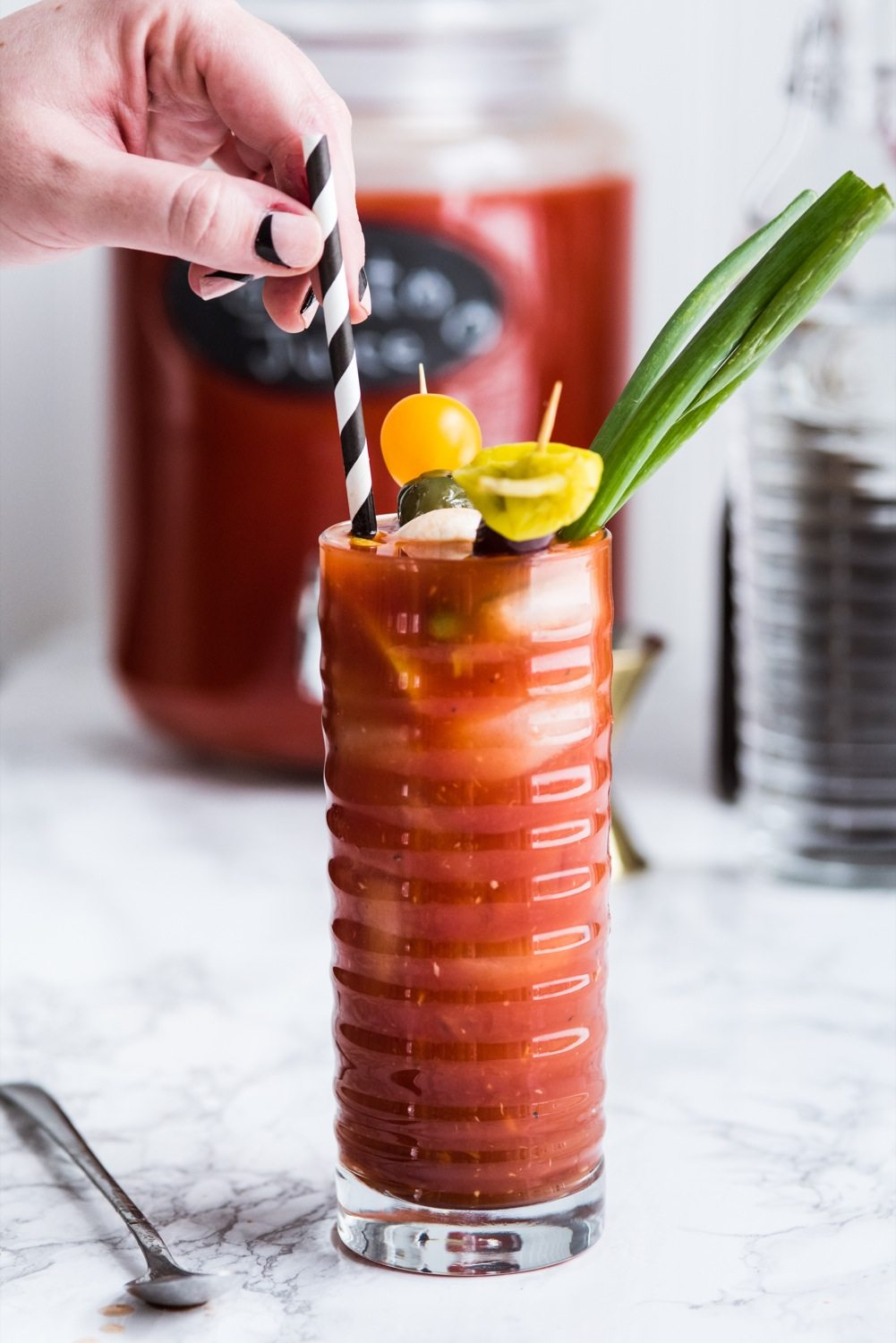 How to Make an Epic New Year's Day Bloody Mary Bar   Entertaining tips ...