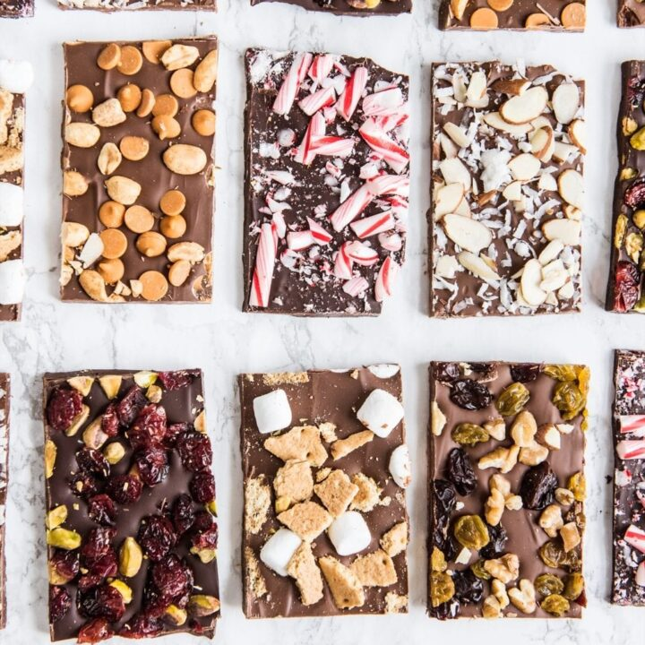 6 Christmas Chocolate Bark Recipes | Homemade Christmas gifts, Christmas recipes and more from @cydconverse