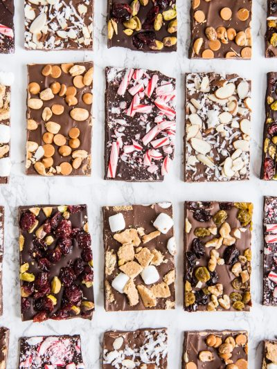Christmas Chocolate Bark Six Ways thumbnail