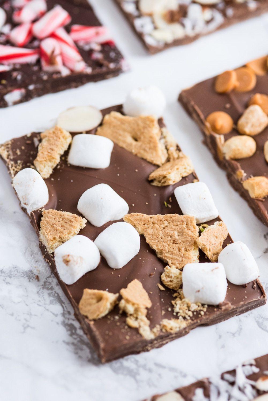 Christmas Chocolate Bark Six Ways The Sweetest Occasion