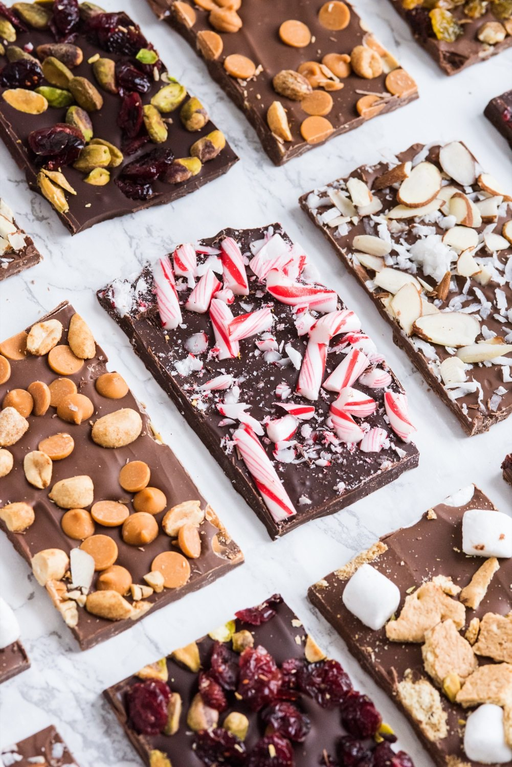 Chocolate Peanut Bark Candy