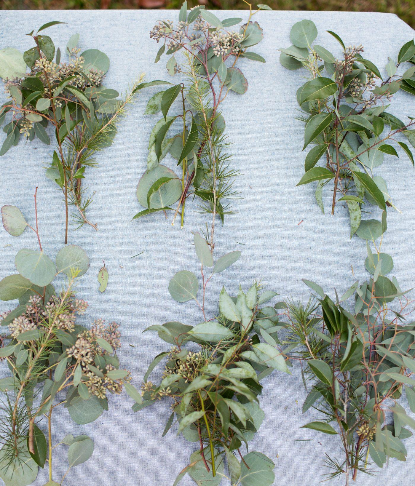 diy eucalyptus pine christmas wreath the sweetest occasion