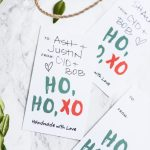 HOHOXO Printable Christmas Gift Tags