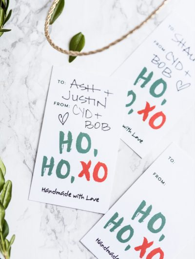 HOHOXO Printable Christmas Gift Tags thumbnail