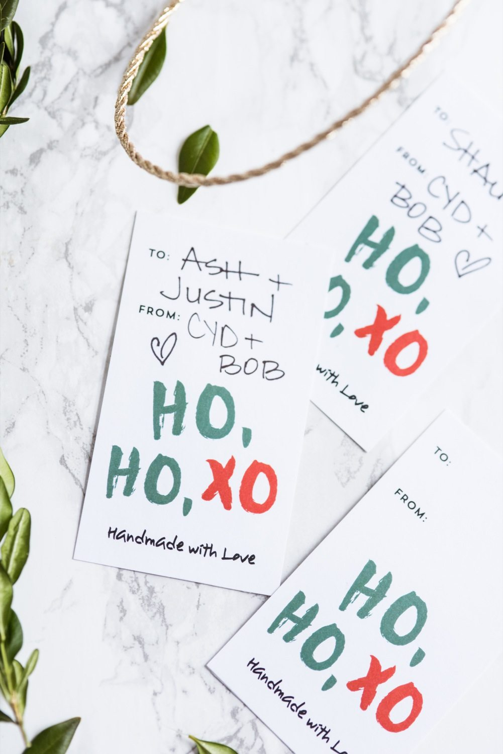 Printable Christmas Gift Tags | Christmas printables, Christmas gift wrapping, and Christmas DIY ideas from @cydconverse