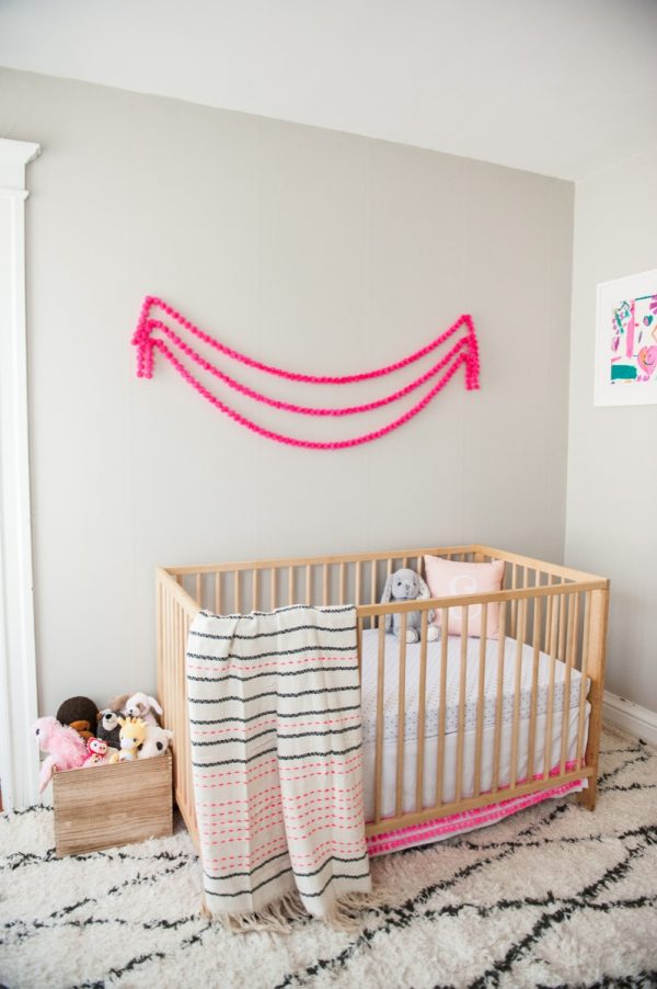 Modern Neon Nursery Tour | Nursery ideas, home decor, entertaining tips and more from @cydconverse
