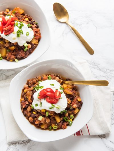 Black Bean Butternut Squash Chili thumbnail