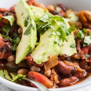 Four Bean Veggie Chili thumbnail