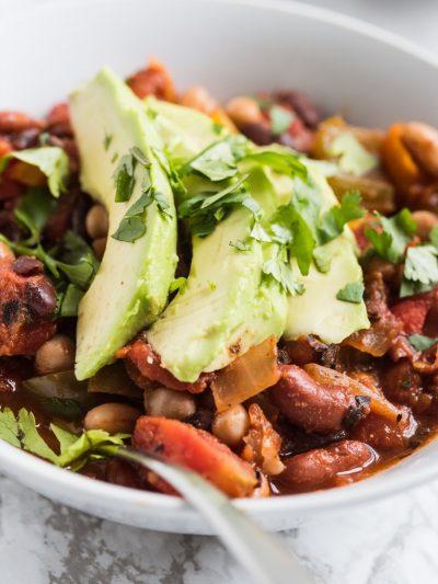 Four Bean Veggie Chili thumbnail