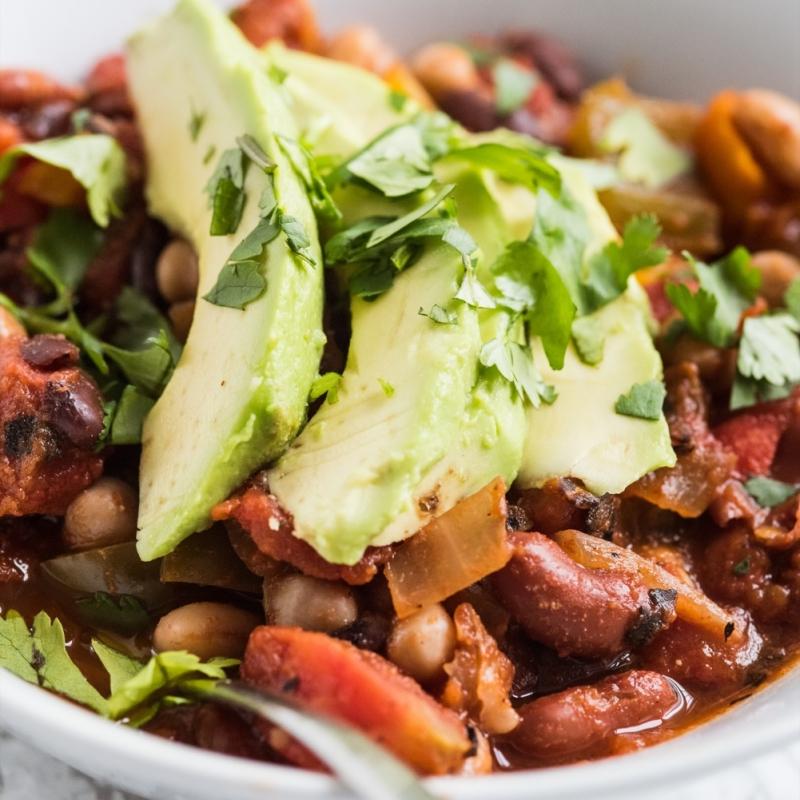 Four Bean Veggie Chili