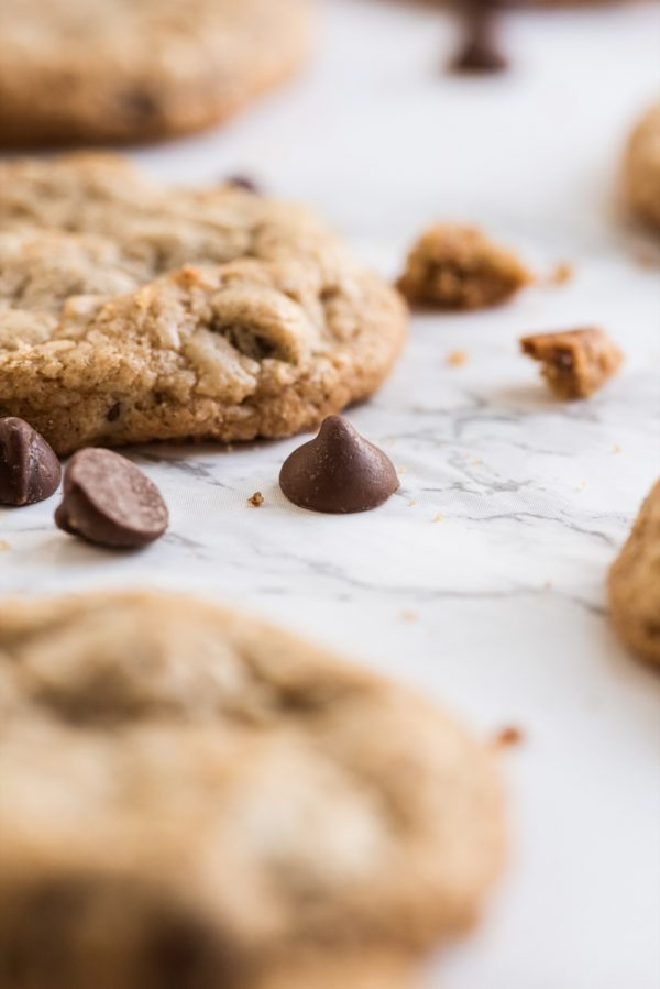 Best Ever Oatmeal Chocolate Chip Cookies Recipe | Entertaining ideas, recipes, cocktail recipes and party ideas from @cydconverse