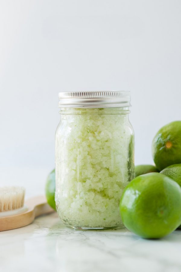 DIY Homemade Margarita Body Scrub | Homemade beauty remedies, at home skin care, body scrub recipes and more!