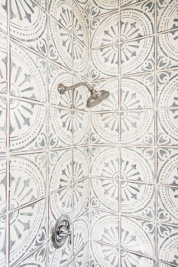 Loving Patterned Cement Tile