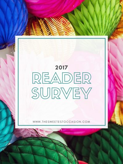 The 2017 Reader Survey + Win a $100 Gift Card! thumbnail