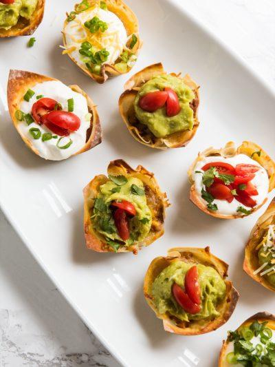 Crunchy Veggie Taco Cups thumbnail