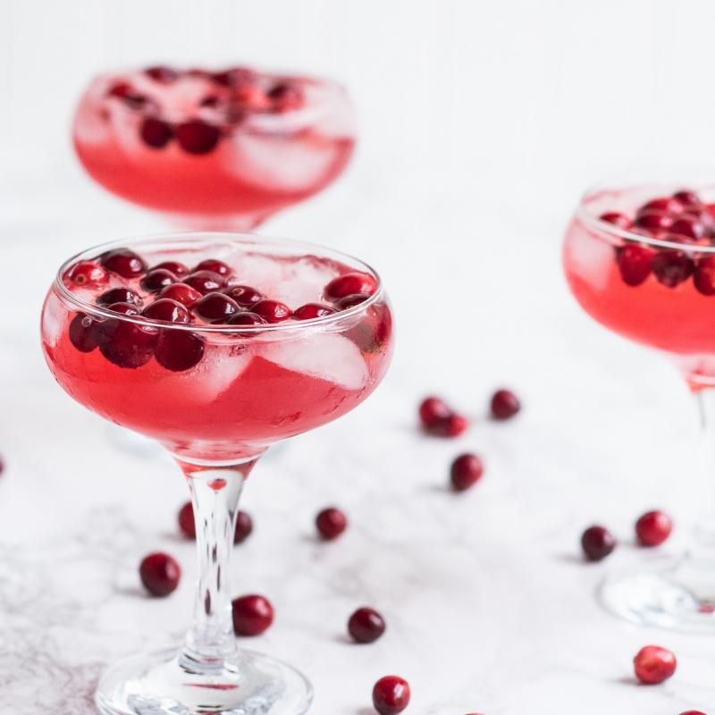 Gingerberry Sparkler