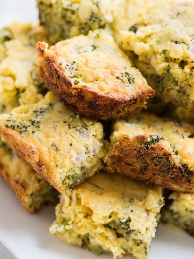 The Best Cheesy Broccoli Cornbread with Jiffy Mix thumbnail