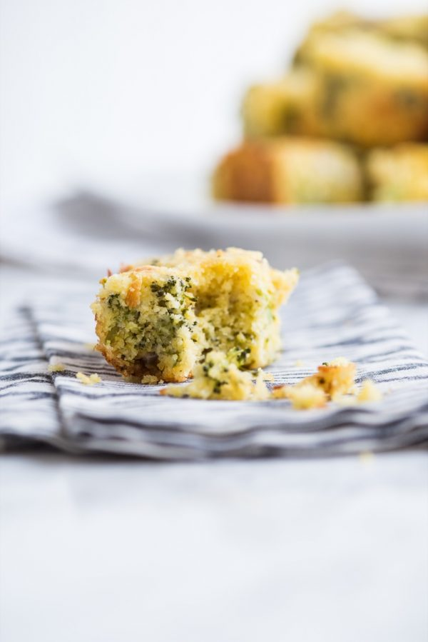 Cheesy Broccoli Cornbread Recipe | Easy recipes, entertaining tips, party ideas, party appetizers and more from @cydconverse