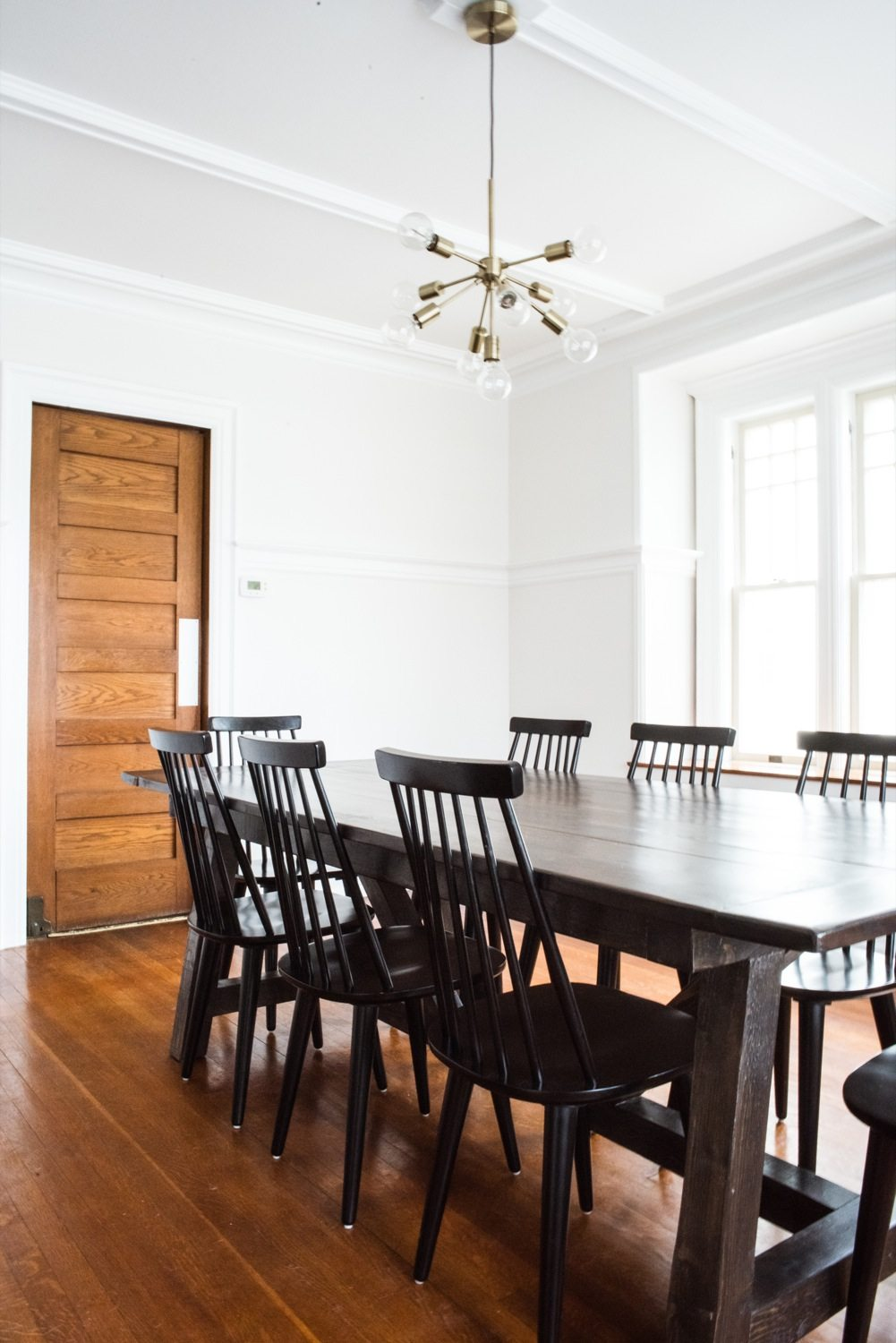 our dining room renovation before and after the. Black Bedroom Furniture Sets. Home Design Ideas