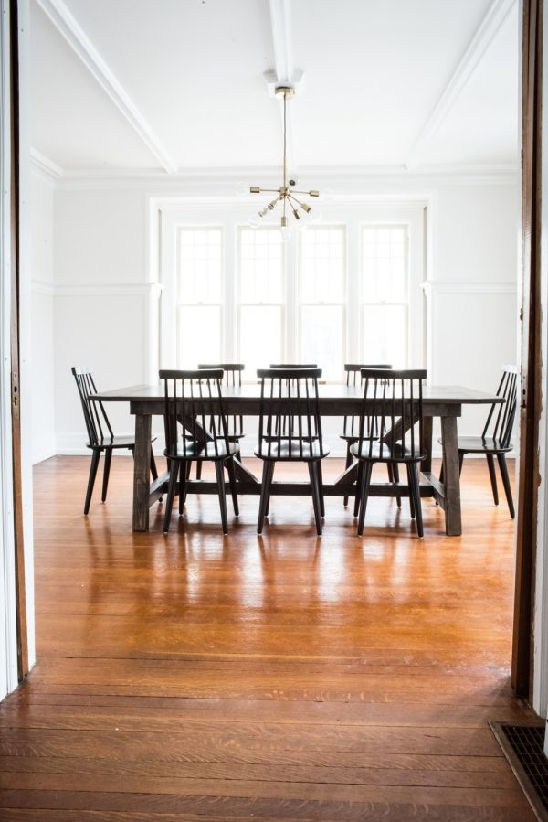Dining Room Renovation | Old house ideas, home decor ideas, renovating ideas, renovation blog from @cydconverse
