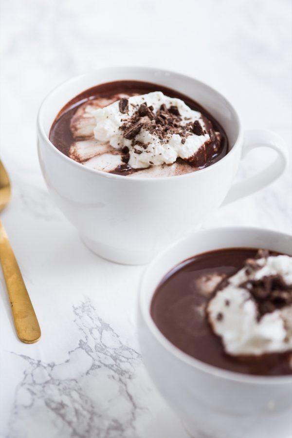 French Hot Chocolate Recipe | Recipes, entertaining tips, party ideas and more from @cydconverse