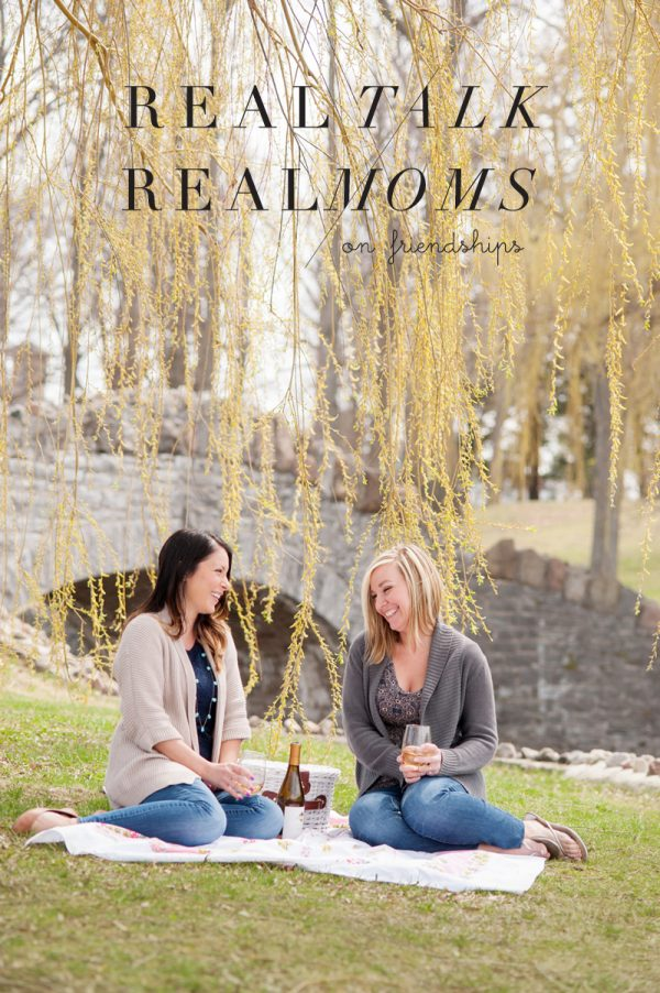 Real Talk with Real Moms: On Friendships | Mom blogger, entertaining tips and party ideas from @cydconverse