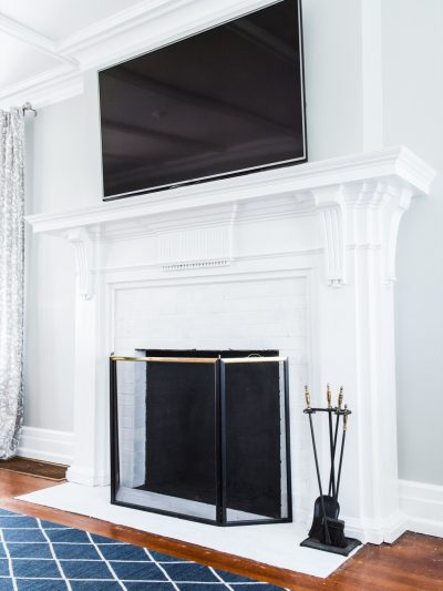 A DIY Fireplace Makeover for Under $30 thumbnail