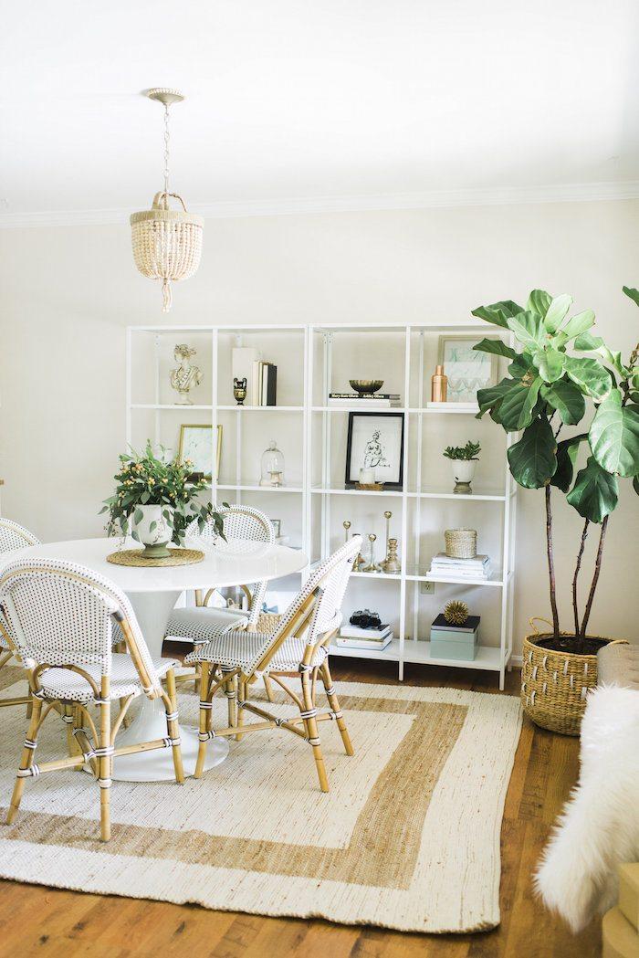Beachy Neutral Dining Room | Dining Room Design Ideas, Breakfast Nook Ideas,  Dining Room
