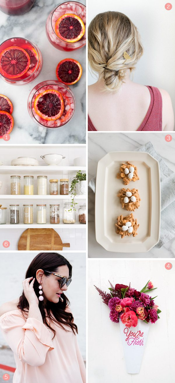 Things I Love This Week from @cydconverse | Weekend DIY ideas, crafts projects, recipes, cocktail recipes, party ideas and more