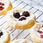Berry + Cream Cheese Breakfast Pastries