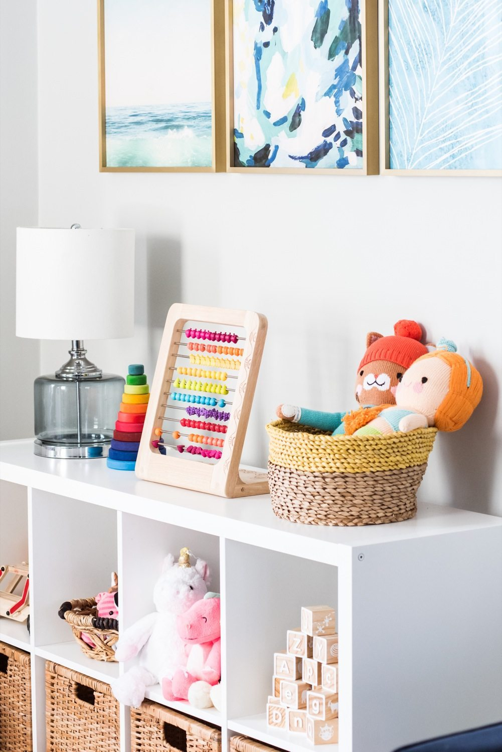 Kids Play Room Design: Emerson's Modern Playroom Tour