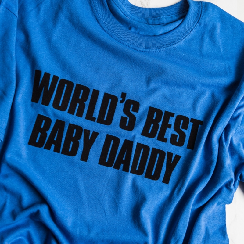 DIY Graphic Father's Day Shirts