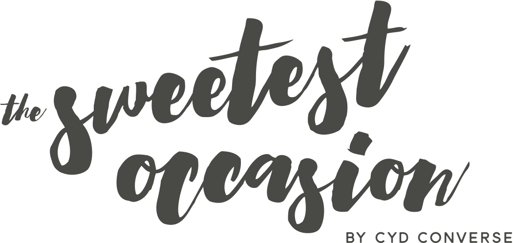 The Sweetest Occasion by @cydconverse